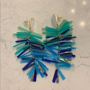 Kendra Scott Abalone Tassel Earrings